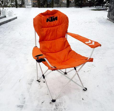 Krzesło fotel składany KTM - oryginał Z KTMsklep.