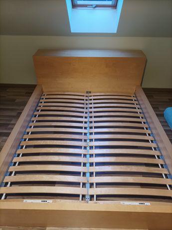 Komplet do sypialni Ikea Malm i szafa 3 drzwiowa