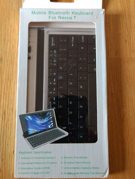 Teclado bluetooth/capa para Nexus 7 (2013)