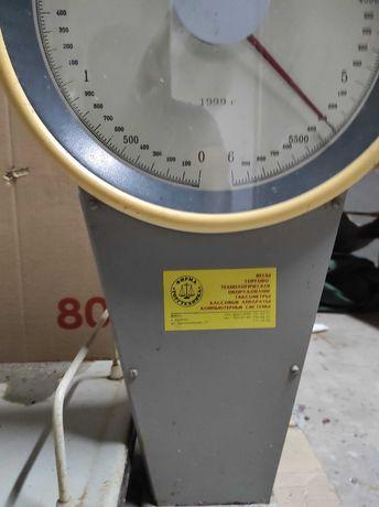 Весы б/у торговые, механические до 6кг. Проверены и сертифицированы.