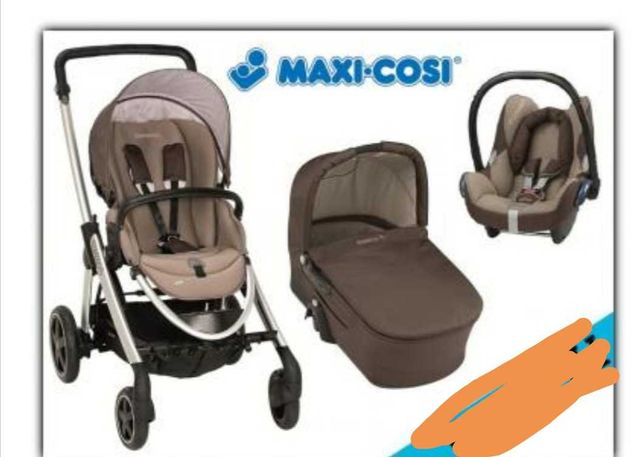 Wózek Maxi Cosi Elea 3w1 + akcesoria