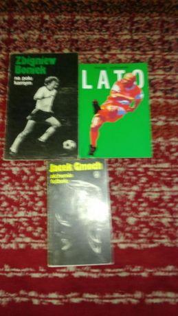 Książki Legendy futbolu komplet