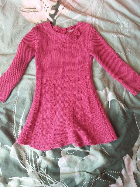 Sukienka wiosna, jesień 2-3 latka dziewczynka