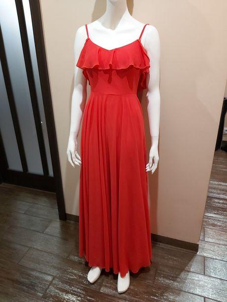 Nowa różowe sukienka.