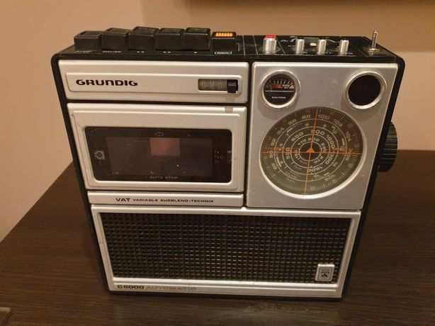 Grundig c5000 radio magnetofon
