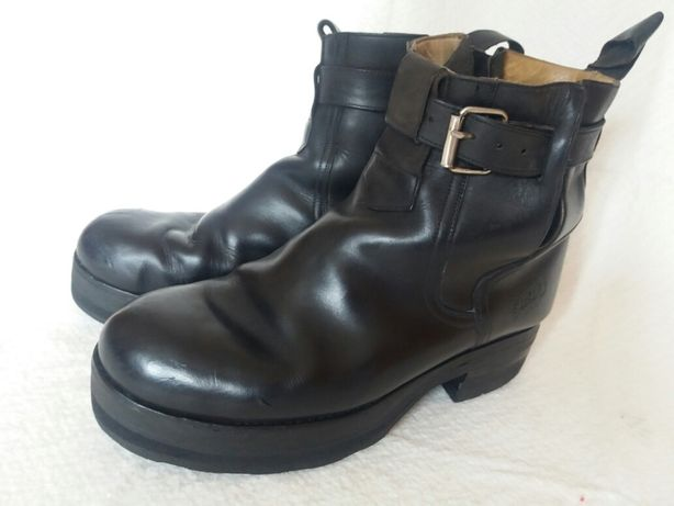 Botas pretas marca Sancho Boots (vintage - tam.  43.5)