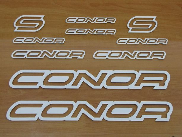 Conor autocolantes bike