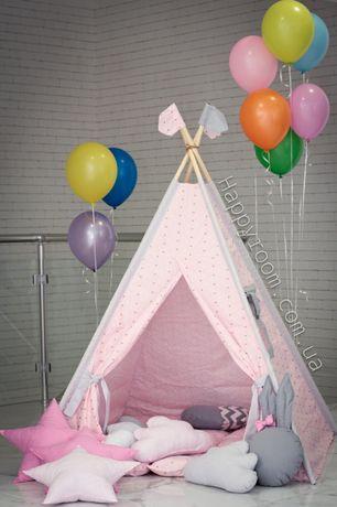 Яркий подарок. Качественные вигвамы. Современные палатки для деток.