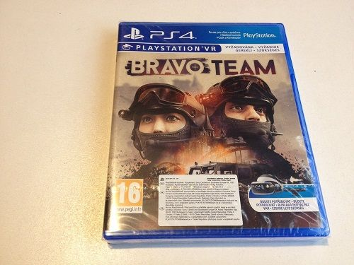 Bravo Team VR PL PS4 NOWA Sklep Plac Wolności 9 Irydium_Gsm