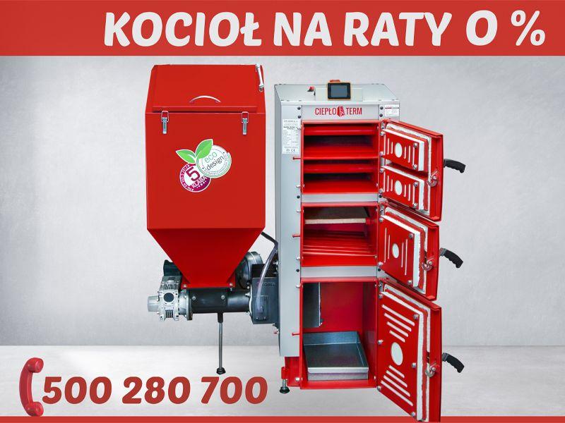 Kocioł UNIWERSAL PLUS 15kw Dotacja EKOGROSZEK 5 Klasa Piec Kotły Olesno - image 1