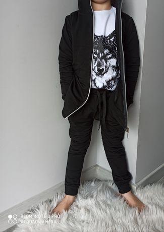 Dres z wilkiem bluza spodnie koszulka 92-140