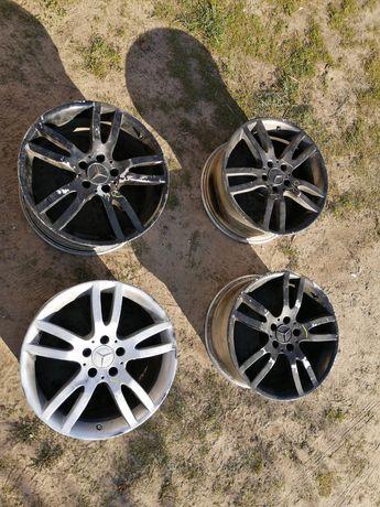 Oryginalne aluminiowe felgi MERCEDES S klasa 18 CALI