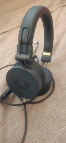 Słuchawki przewodowe fresh n rebel indigo + powerbank + głośnik