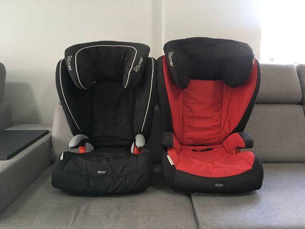 2szt ROMER isofix KIDFIX i KID 15-36kg fotelik samochodowy ! KOMPLET !