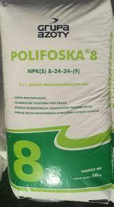 Polifoska 8, 8-24-24, nawozy, saletra, saletrzak, mocznik, potafoska,