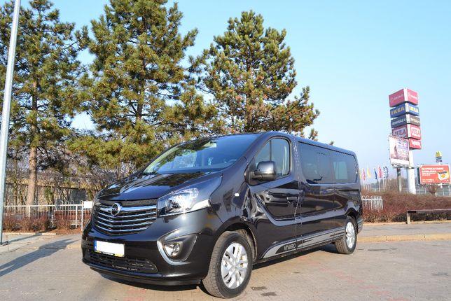 Wypożyczalnia busów, wynajem busa, Opel Vivaro Extralong Warszawa