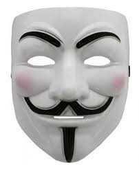 Анонимус маска Гай Фокс