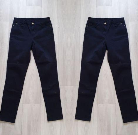 Czarne jeansy spodnie rurki jeansowe esmara m l