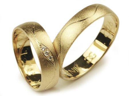 Złote Obrączki 585 I028 Jubiler Goldrun CHORZÓW
