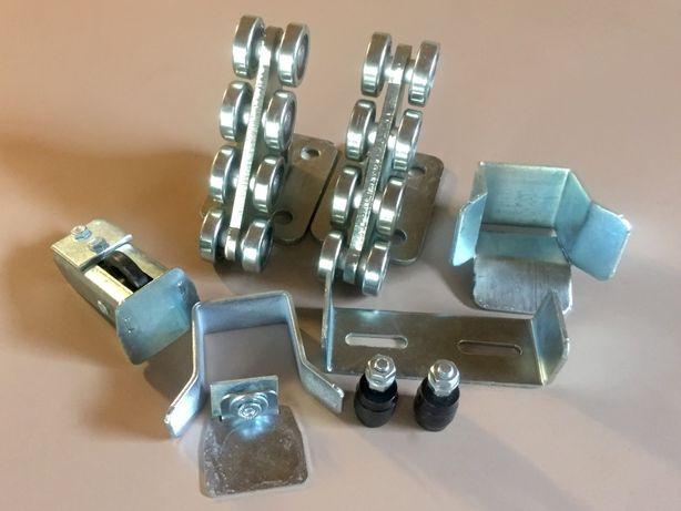 Фурнитура для откатных ворот, ролики рейка 400, 500, 600, 800, 1200 кг