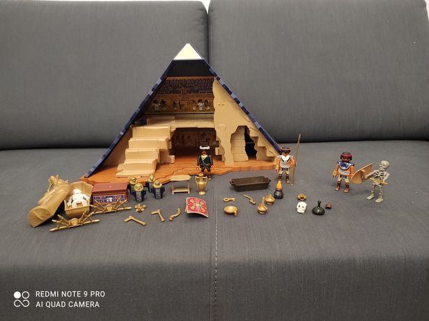 Zestaw Playmobil history piramida faraona zestaw nr 5386