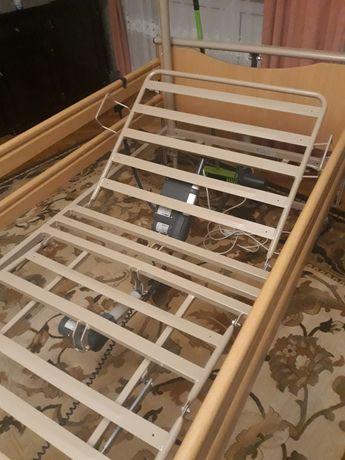 LUNA Basic 2 Łóżko rehabilitacyjne z materacem elektryczne na pilota