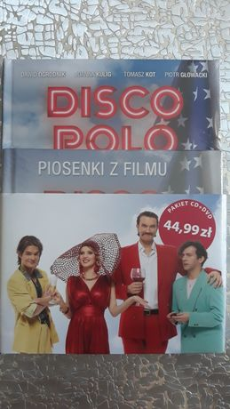 Disco Polo Film DVD +płyta CD z filmu