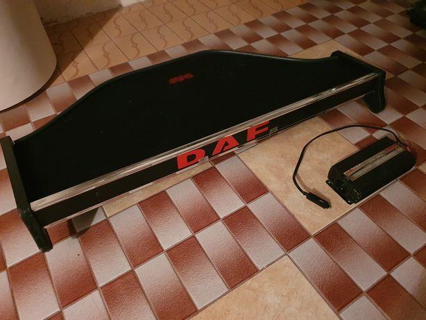 Półka akcesoryjna DAF 105 xf + przetwornica