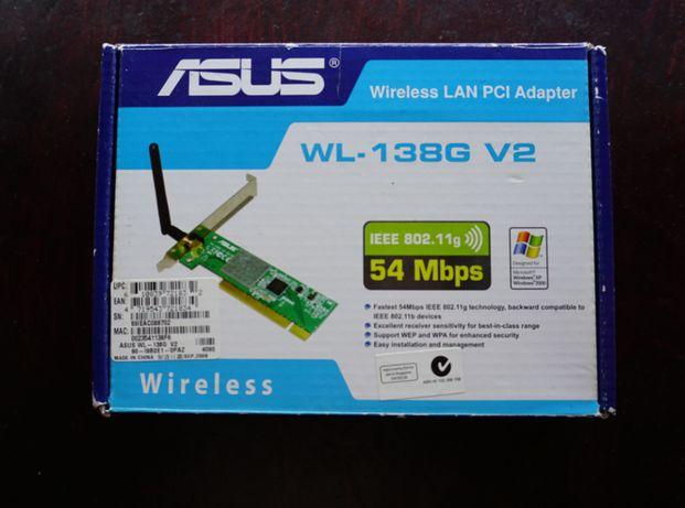 Placa Wireless para computador fixo - Asus WL-138G V2