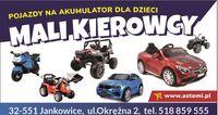 Samochód Motor Quad na akumulator dla dzieci Odbiór Wysyłka Sklep