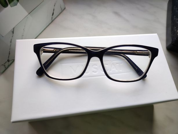 Okulary korekcyjne In Style Vision Express jeans niebieskie
