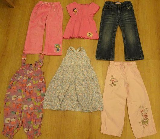 Zestaw letnich ubrań dla dziewczynki 3-4 lata