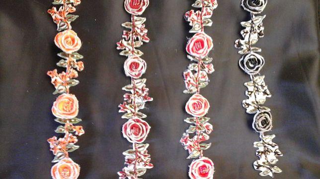 Aplikacje różyczki 4 kolory