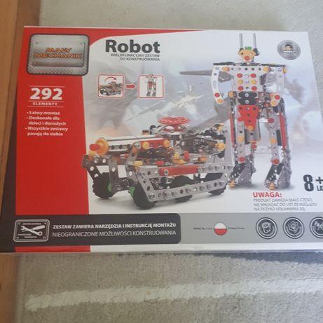 Klocki Madej - Nowy zestaw konstrukcyjny Mały Mechanik - Robot