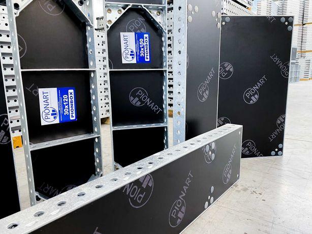 Deskowanie PionBox 83 m2 (kompatybilne z Tekko) - PRODUCENT NOWE