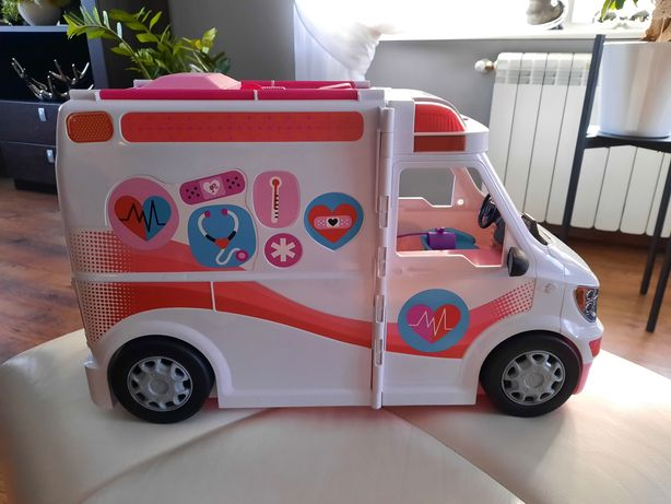 Mattel karetka Barbie
