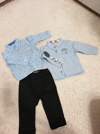Koszule eleganckie plus spodnie 74