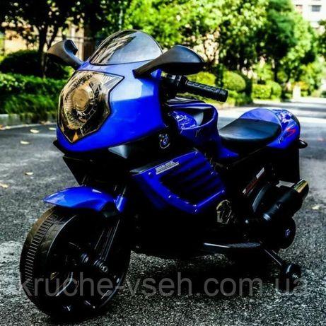 Мотоцикл M 3578, детский электромобиль, колеса EVA, кожаное сиденье