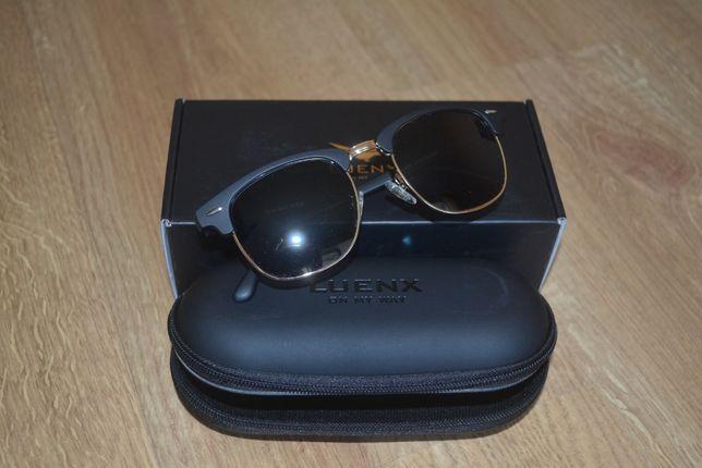 Солнцезащитные очки Luenx, поляризованные, новые, унисекс