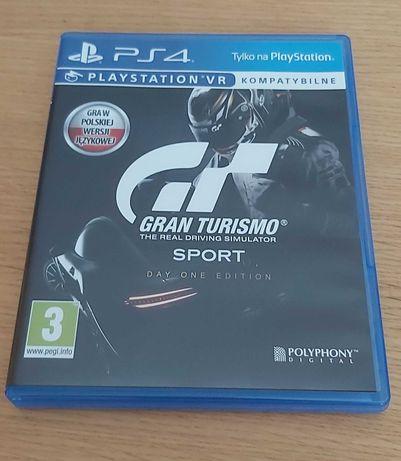 Gry PS4 PL GRAN Turismo SPORT, WIEDŹMIN 3 Dziki Goo, Driveclub ,FIFA18