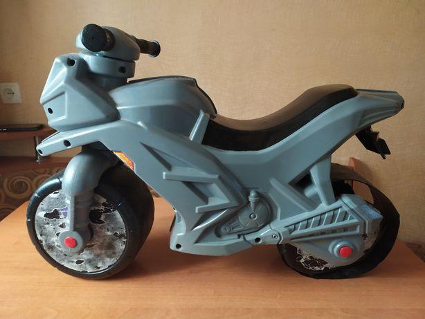 Мотоцикл детский толокар ОРИОН б/у