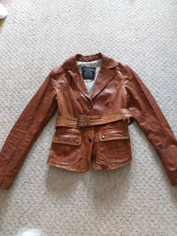 Куртка на прохладные летние вечера кожа   kocca jeans
