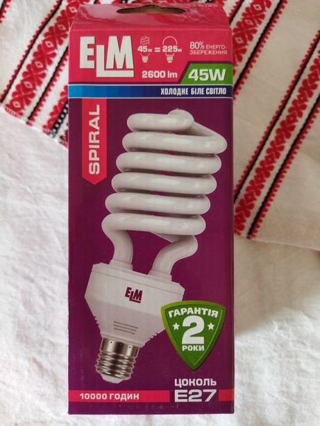 Лампа люминесцентная энергосберегающая 45W