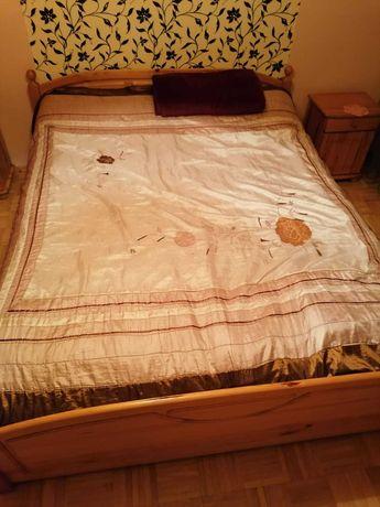 Łóżko wraz z komodą