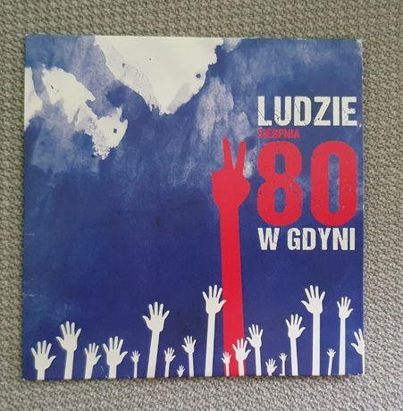 Ludzie sierpnia 80 w Gdyni - płyta CD