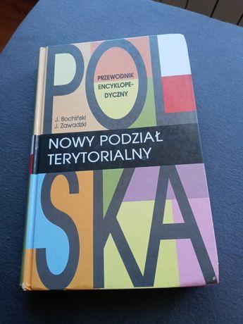 Książka Polska podział terytorialny