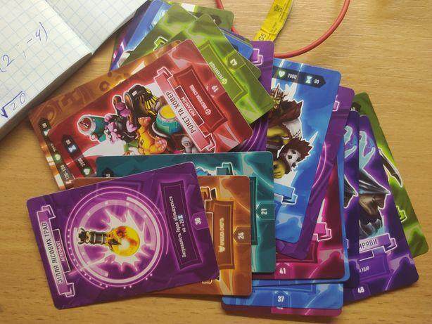 Коллекционные карточки АТБ арена