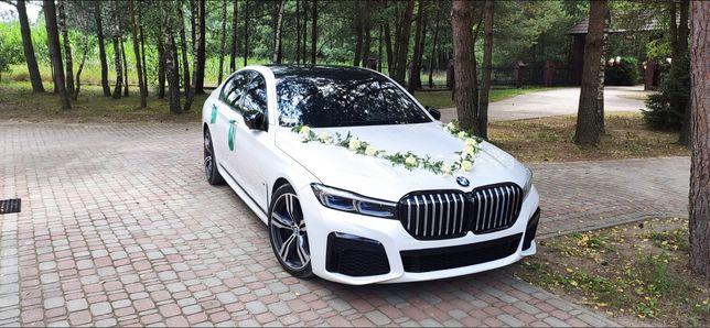 Auto do ślubu BMW 740 Nowe  po lifcie