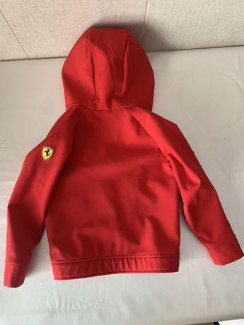 Casaco Ferrari menino