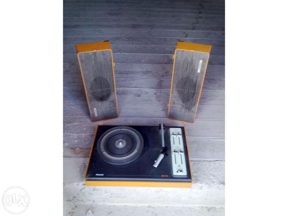 Gira discos Philips Tábua - imagem 1